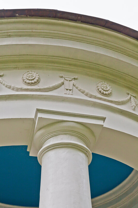 Архитектурные детали ротонды - Остафьево