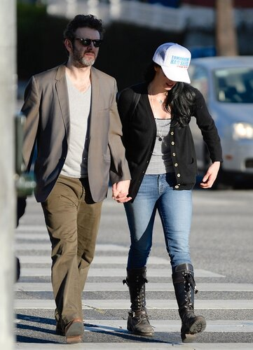 Sarah Silverman, Michael Sheen _ 022314K14_SILVERMAN_NPG_07
