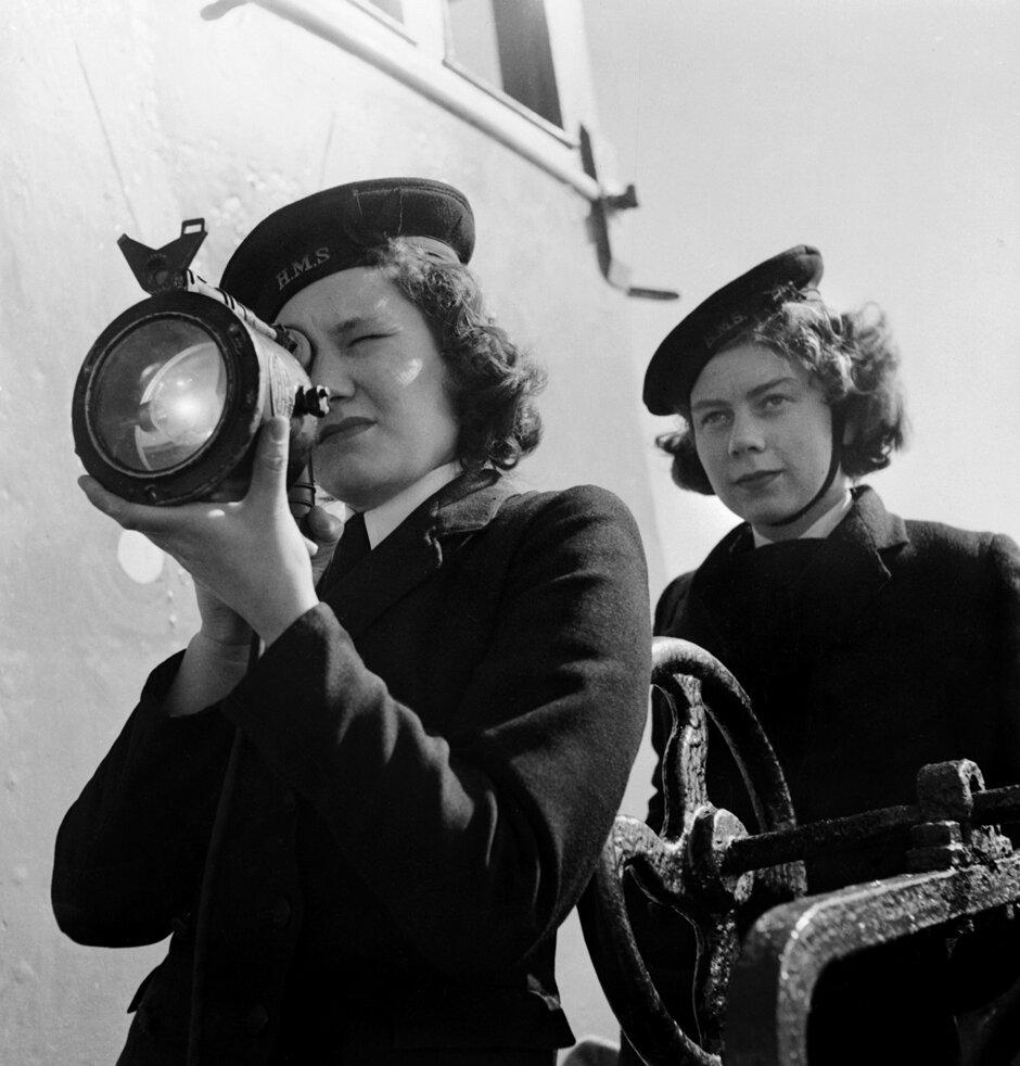 Women's British Naval Control Service - 1944