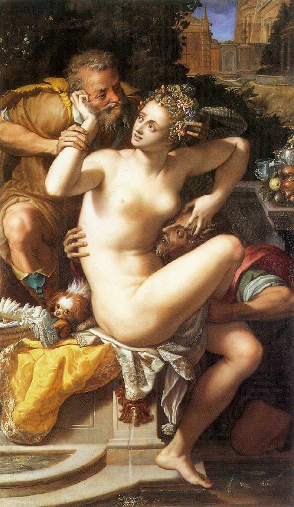 Susanna and the Elders, second half of 16th century, Alessandro Allori (1535–1607) Musée Magnin, Dijon