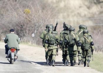 В Крыму замечено передвижение российской военной техники