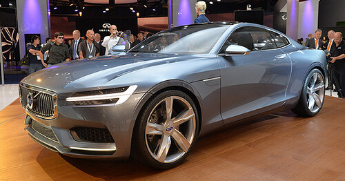 Volvo Concept Coupe планируют направить в серийное производство