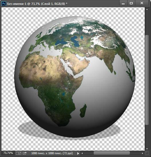 Как сделать 3D сферу