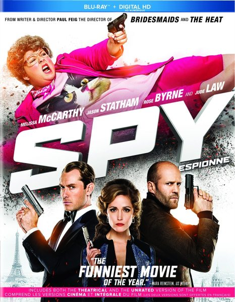Шпион (Расширенная версия) / Spy [UNRATED CUT] (2015) BDRip/1080p/720p + HDRip