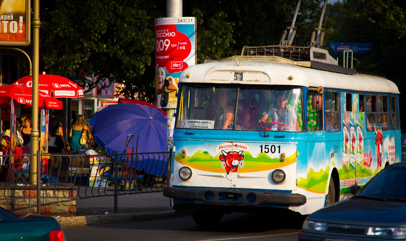 Škoda 9Tr - легендарный троллейбус Крыма. Самые старые троллейбусы мира