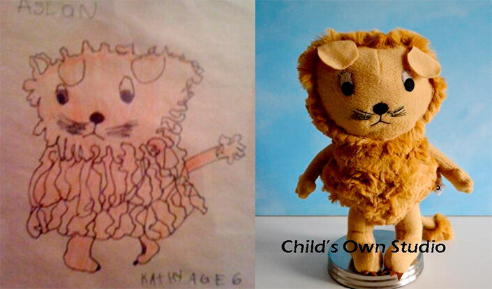 Фото «Мягкие игрушки из детских рисунков»  (Часть 2)