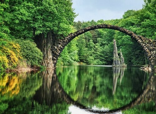 Красота, сотворенная природой, человеом, временем...