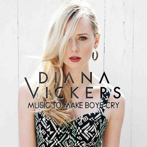 Диана Викерс представила обложку второго студийного альбома