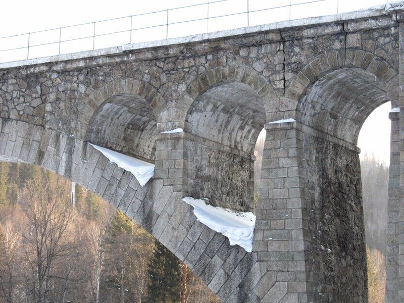 Ажурная конструкция моста (11.07.2013)