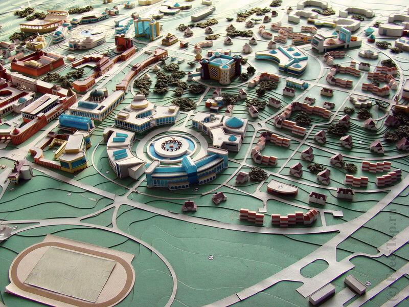 План городка шахмат