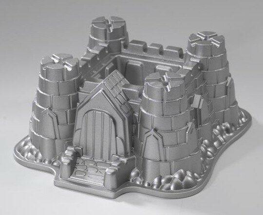 форма для кекса замок
