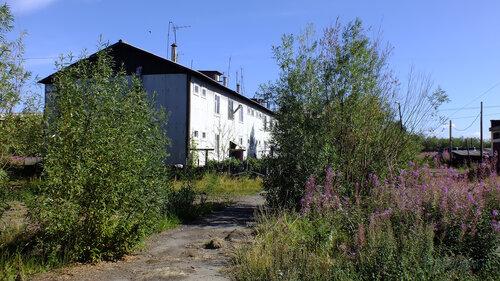 Фото города Инта №5532  Западный угол Спортивной 110 06.08.2013_13:36