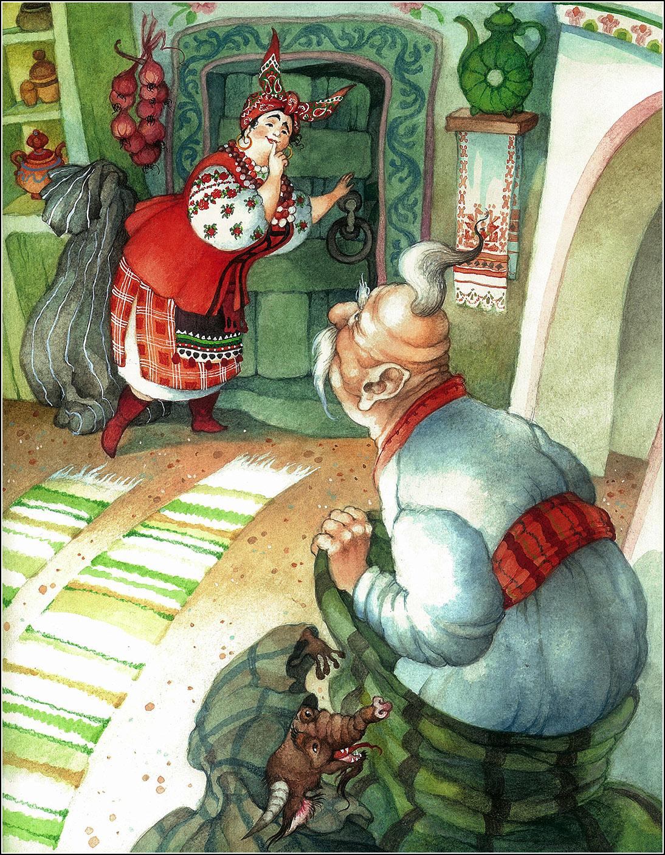 Ольга Ионайтис, Ночь перед Рождеством