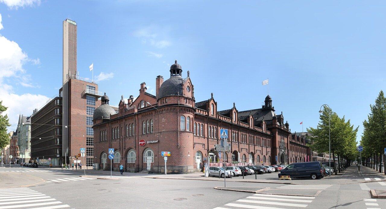 Helsinki. Old customs warehouse (Tulli - ja pakkahuone)