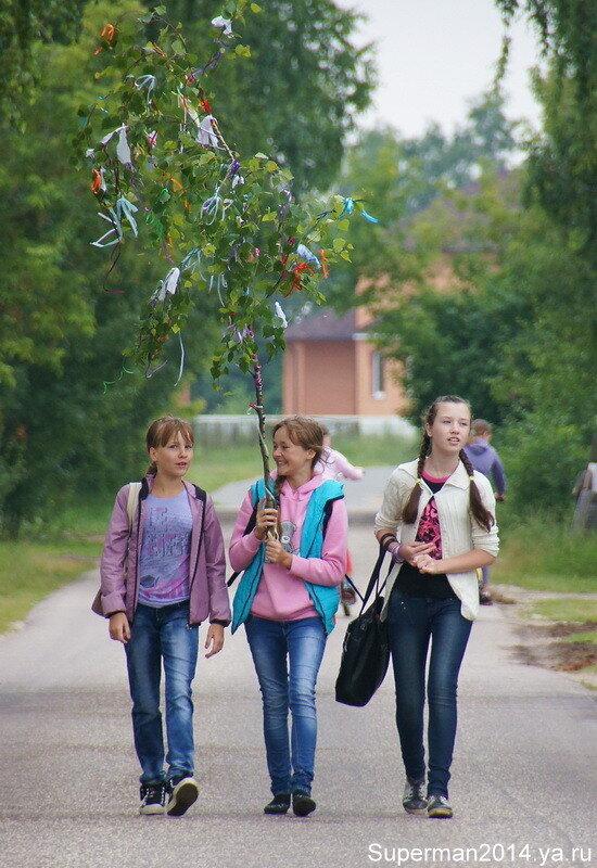 Троица в Кудыкино