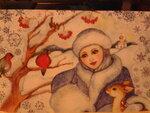 WINTER-WOMAN / Снегурочки, образ Зимы