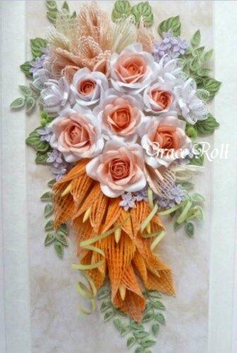 Квиллинг цветы