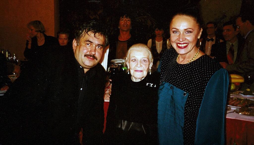Стас Садальский, Изабелла Юрьева, Надежда Бабкина