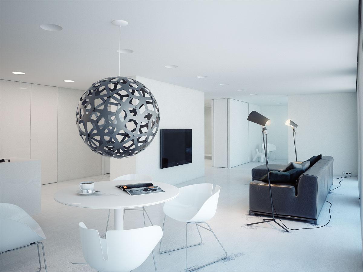 Q1 Apartment, Дизайн-студия Modom, все проекты Modom, интерьер в стиле минимализма, светлый интерьер, проект дизайна интерьера, проект интерьера квартиры