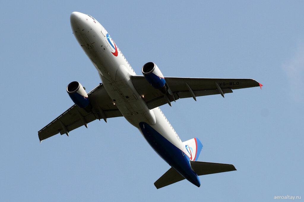 Рейс Якутск-Новосибирск улетает из Барнаула