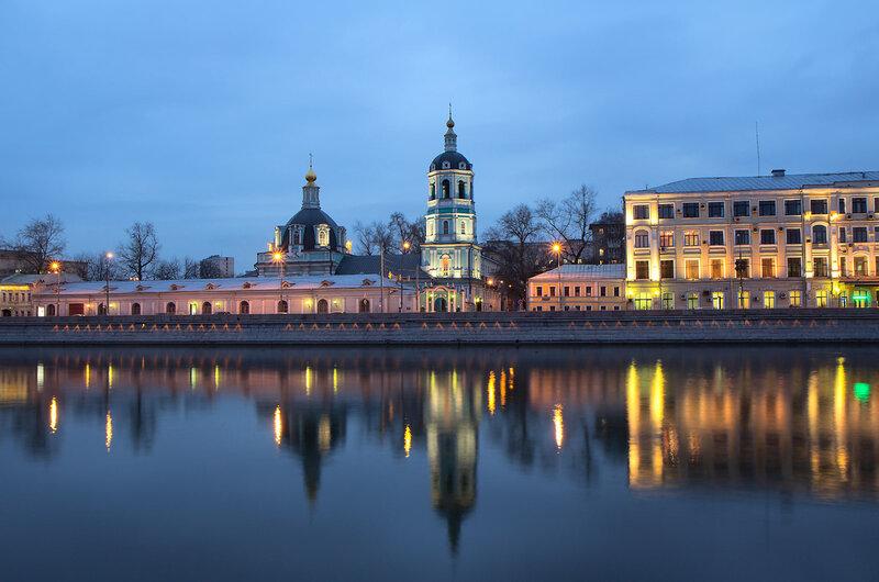 Церковь Николая в Заяицком на Раушской Набережной