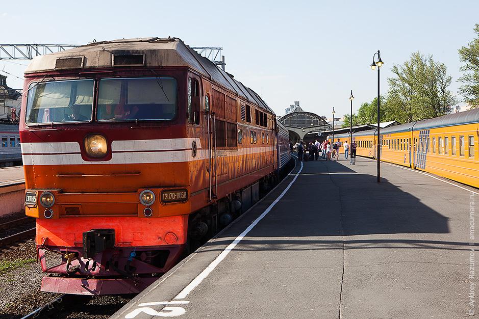 как съездить в Беларусь поезд