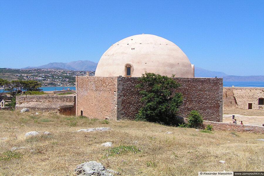 Мусульманская мечеть в крепости Фортецца в Ретимно