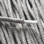 Соединение концов шнура при вязании