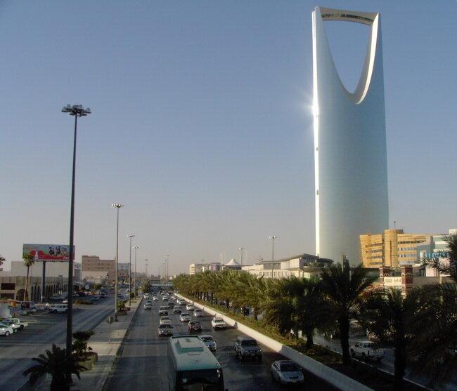 Небоскреб Kingdom Centre. Саудовская Аравия