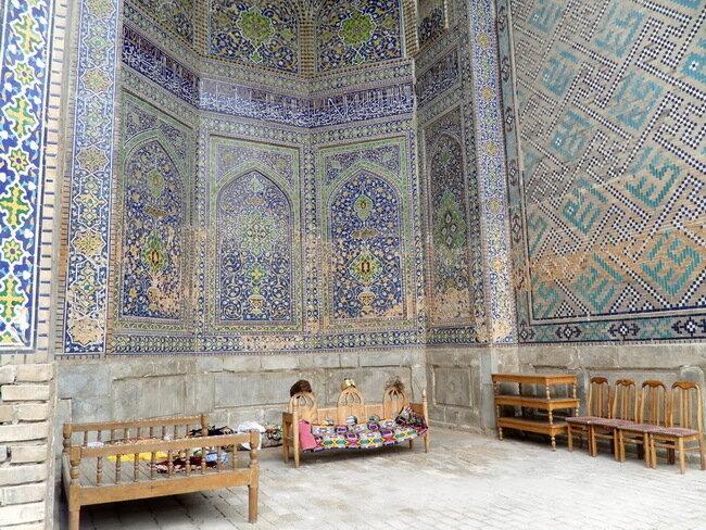 Площадь Регистан в Самарканде