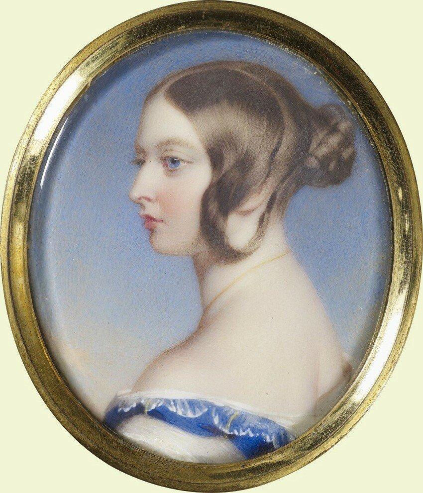 Королева Виктория (1819-1901)  Подпись и дата 1841 от принца Альберта королеве Виктории в ее день рождения, 24 мая 1841