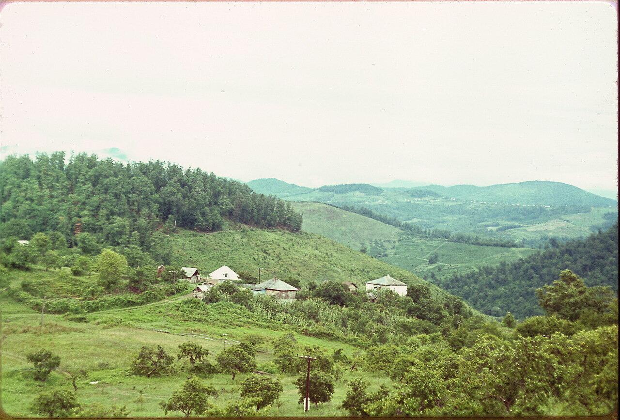 Пейзаж возле Дагомыса