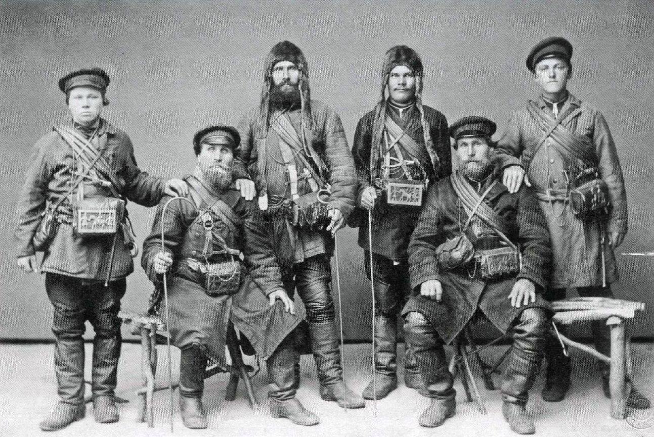 Мезенские коновалы.1890