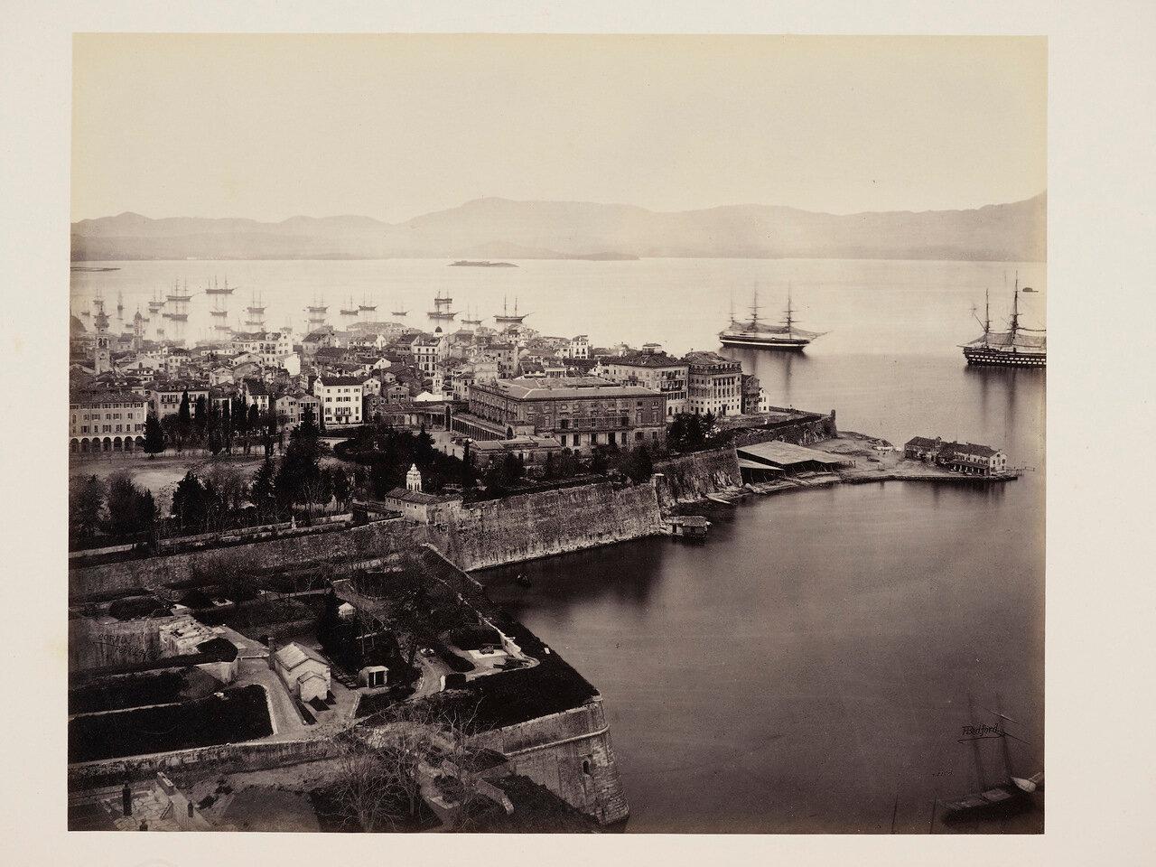 24 февраля 1862. Корфу из Цитадели