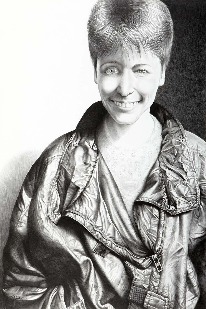 Автопортрет Лори Липтон. 1988