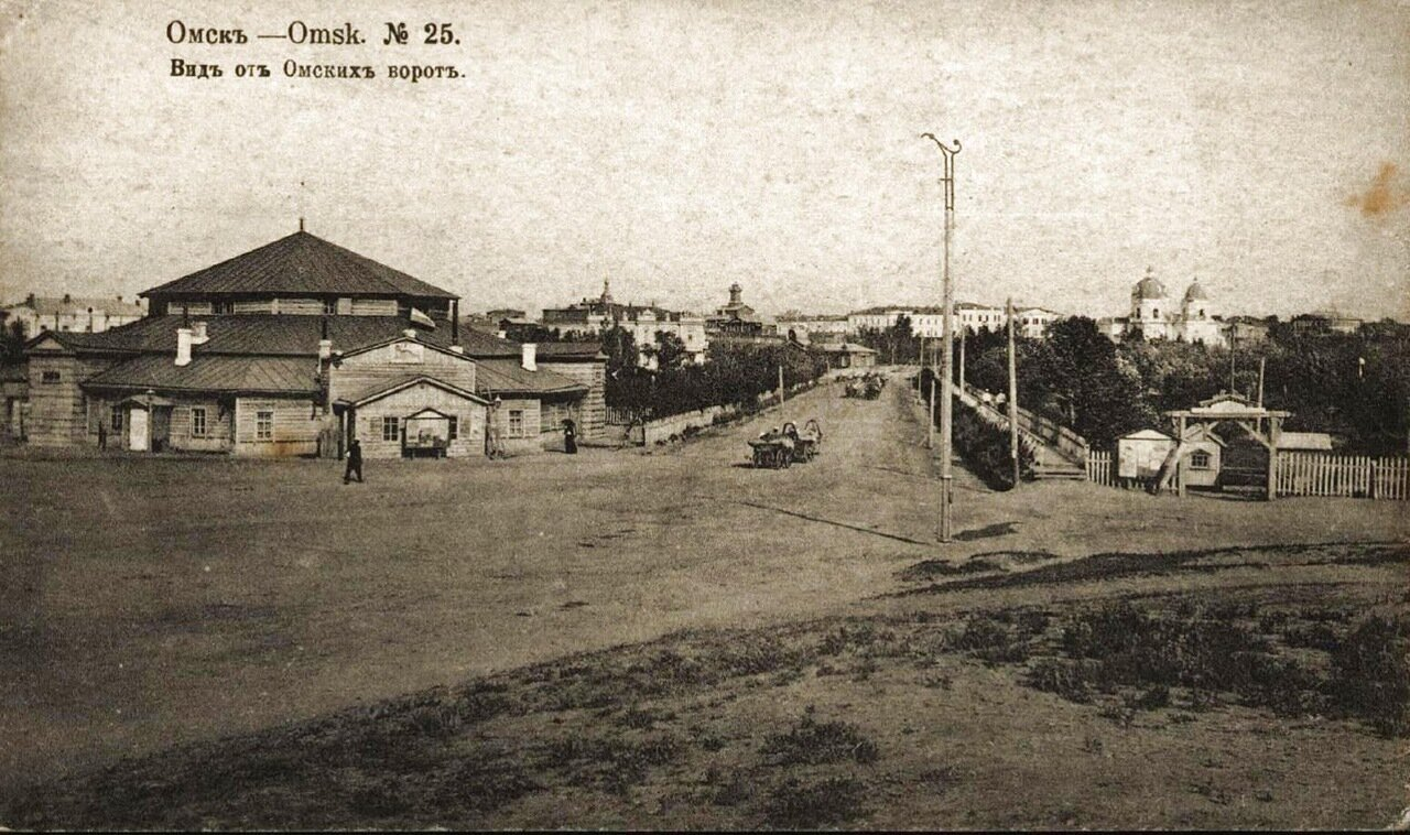 Вид от Омских ворот
