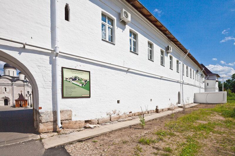 Стены Введенского монастыря