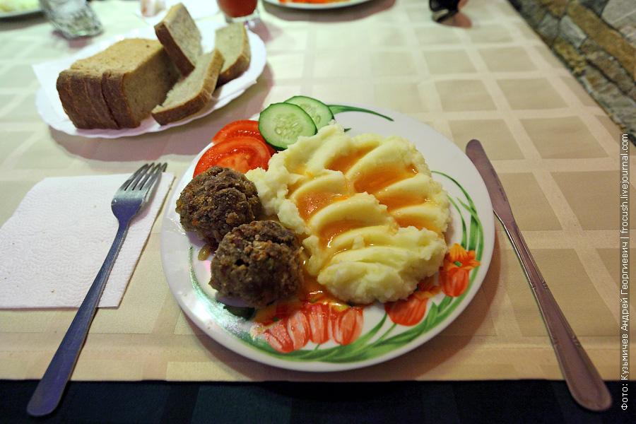 Котлеты с картофельным пюре
