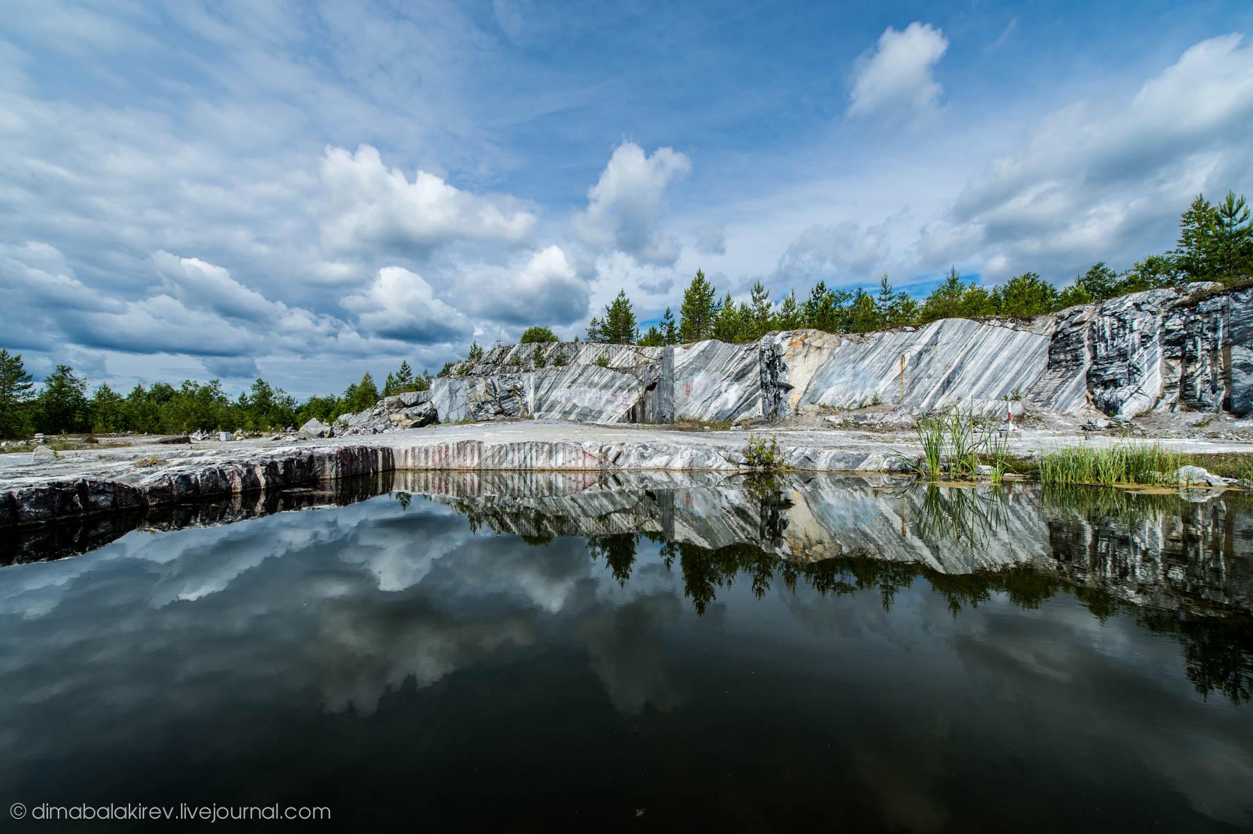 Горный парк Рускеала. Мраморный карьер.