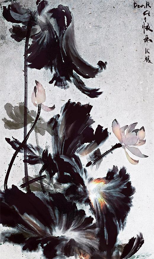 Lotus by Mingzhu Yang