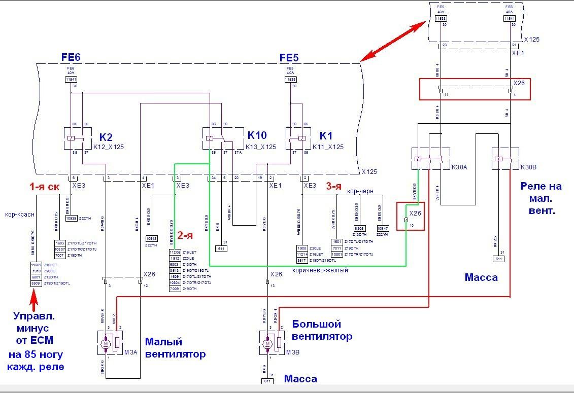 Не включается вентилятор кондиционера опель астра h