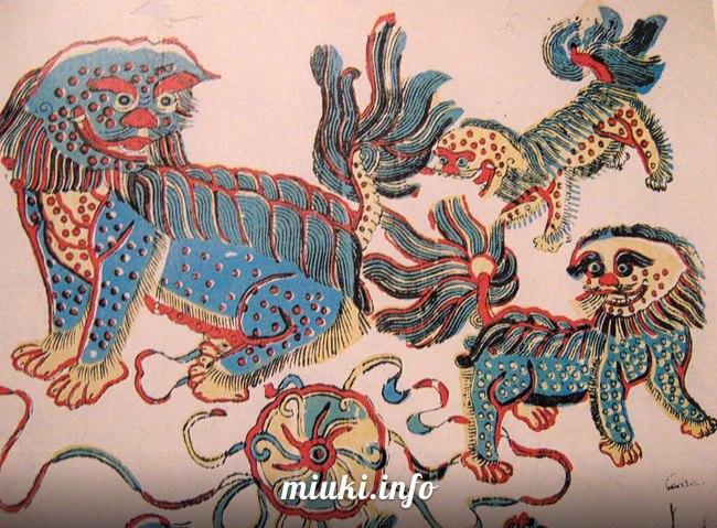 Древние японские народные верования и божества