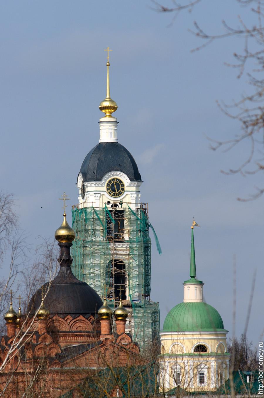 фотография саровской колокольни