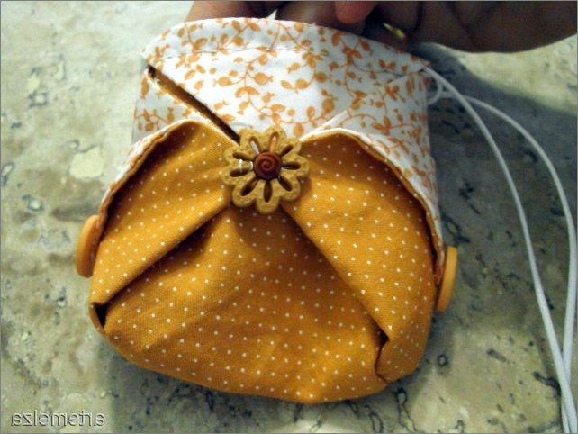 необычная сумочка в японском стиле