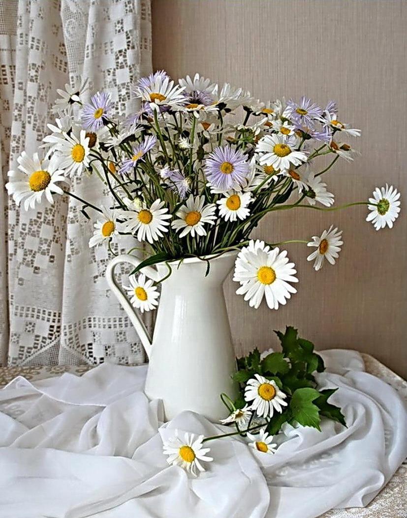 Рисунки букеты цветов