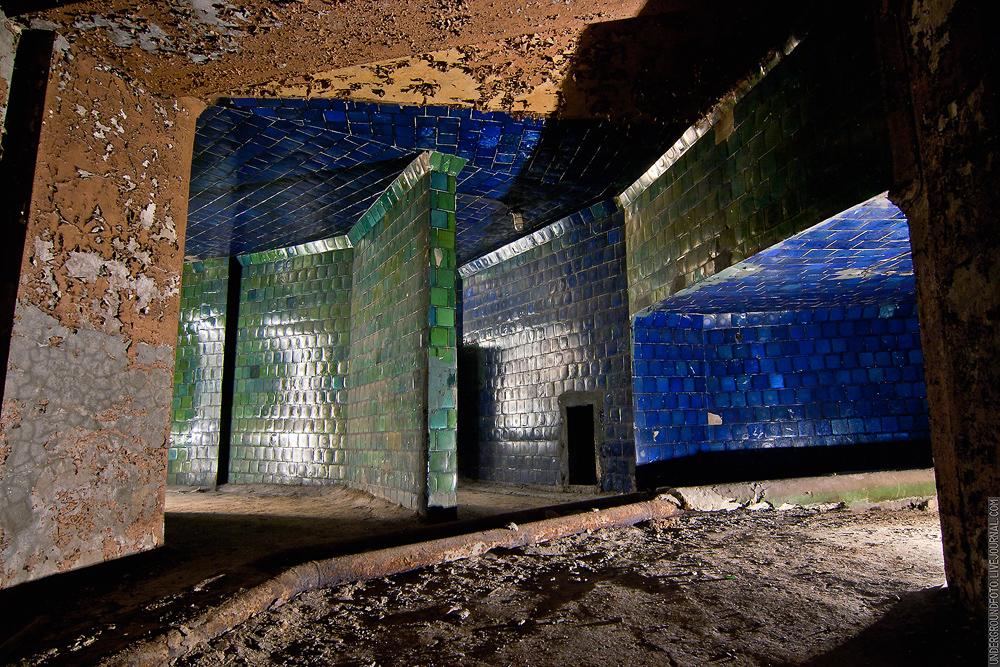 Синий и зеленый коридоры