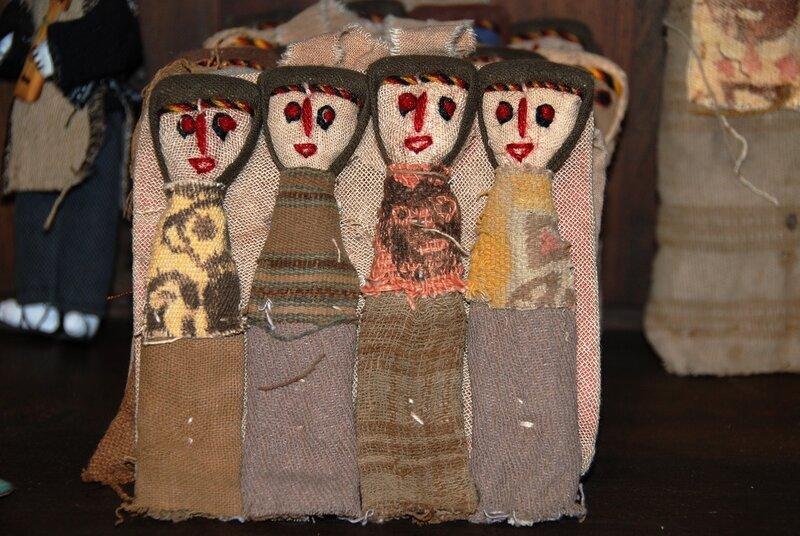 Сувениры индейцев племени мапуче