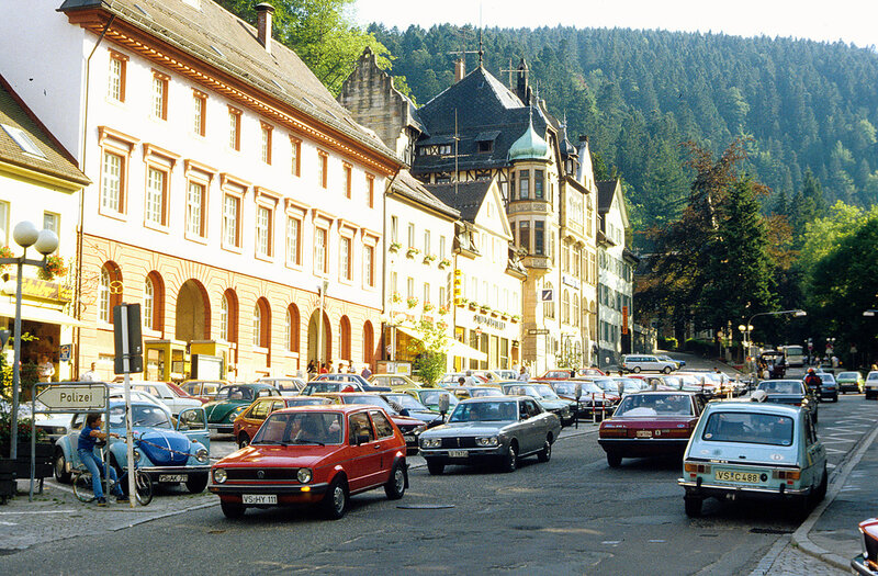 Triberg, in the heart of Germany's Schwarzwald (Black Forest)