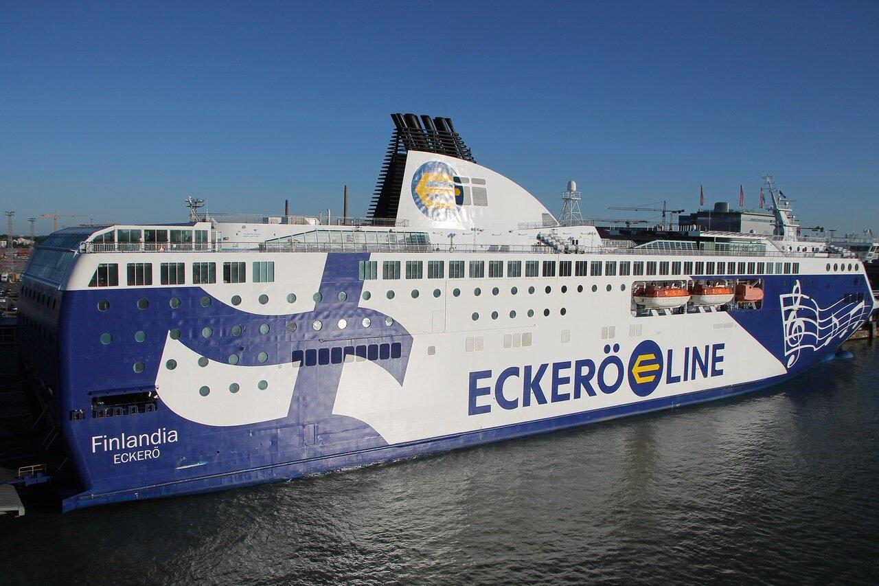 Паром 'Финляндия' (Eckerö Line Finlandia)