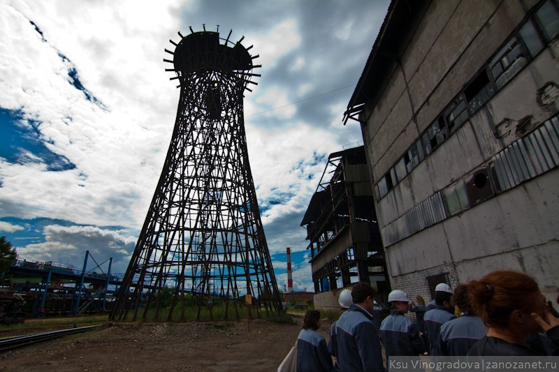 Шуховская башня. Выкса.